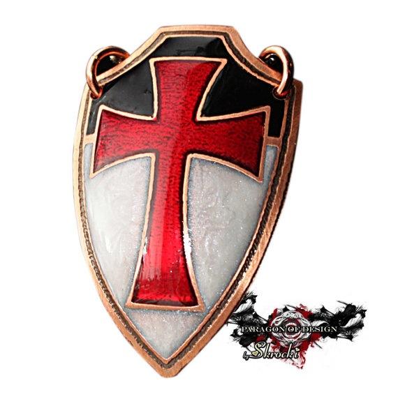 Templar Sword And Shield Tattoo
