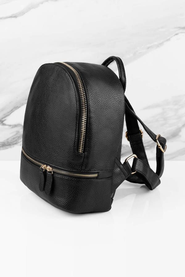 """Search """"Suzie Black Faux Leather Backpack"""" on Tobi.com! Zipper detail mini small backpack perfect for travel #ShopTobi #fashion #summer #spring #vacation Basic outfit simple easy chic fashionable stylish style fashion vacation travel essential capsule wardrobe must have casual comfy comfortable trendy spring summer shop buy cheap inexpensive ideas for women teens cute edgy closet fall college outfit outfits"""