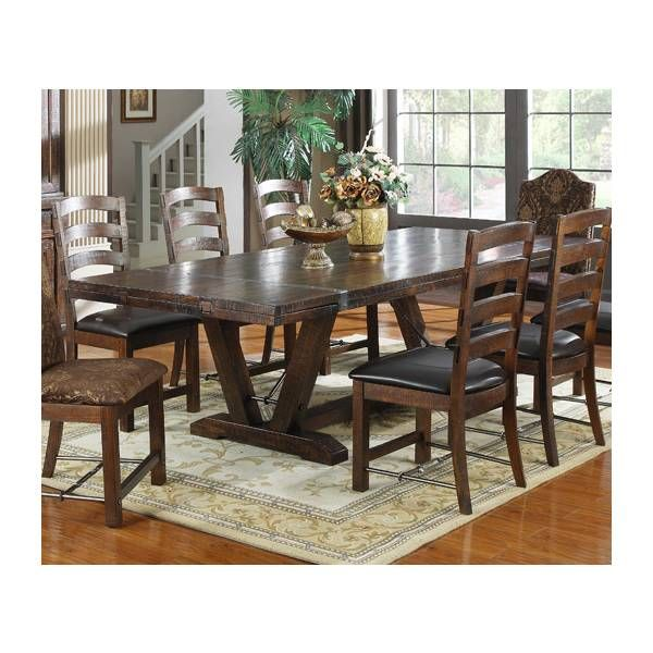 Castlegate Dining Table Emerald Star Furniture Houston TX Furniture