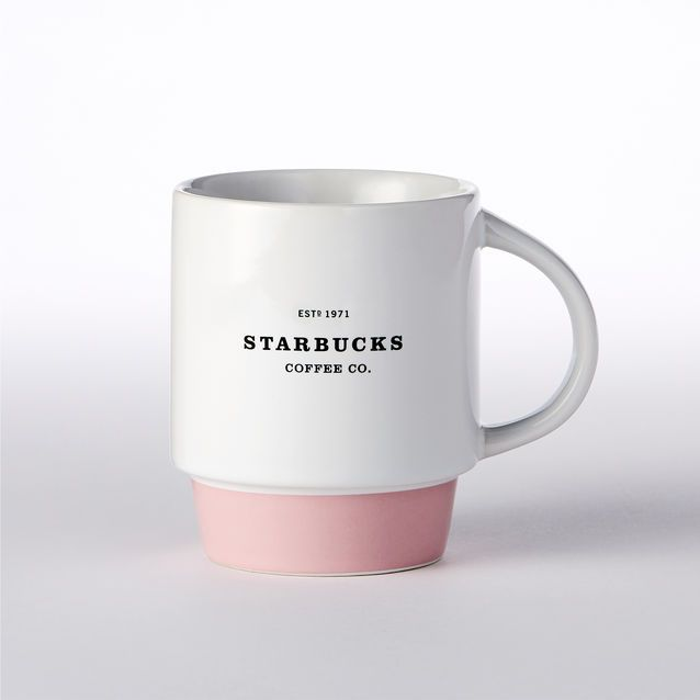 Mug empilable logo historique - Rose, 355 ml/12 oz liq. | Boutique Starbucks® France (FR)
