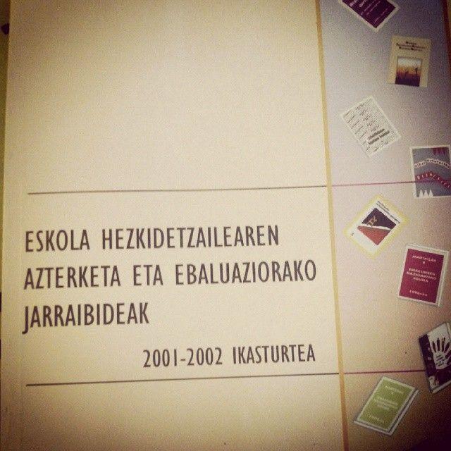 Mari Jose Urruzola Aholkulariak eta Bizkaiko #Hezkidetza Mintegiek eginikoa, egun baliagarria #hezkuntza #hezkidetzarenalde http://www.slideshare.net/HezkEH/eskola-hezkidetzailearen-azterketa-eta-ebaluaketarako-jarraibideak