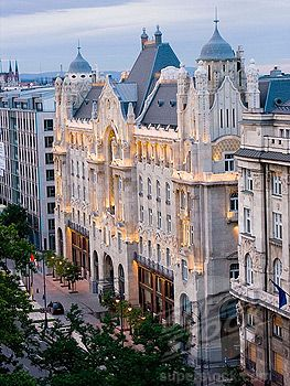 Hungary, Budapest, Four Season Hotel Gresham Palace. This is where we stayed when we were in Budapest. Beautiful!