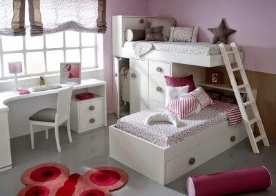 Dormitorios infantiles para ni as ni os de 0 1 2 3 4 y 5 for Habitaciones para ninas de 7 anos