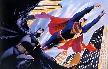 World's Finest - Alex Ross - World-Wide-Art.com - $975.00 #AlexRoss #Batman #Superman
