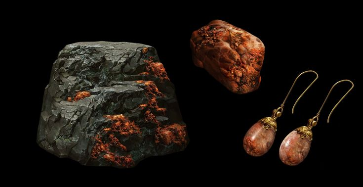 ArtStation - Mineral Assets, Betty Jiang
