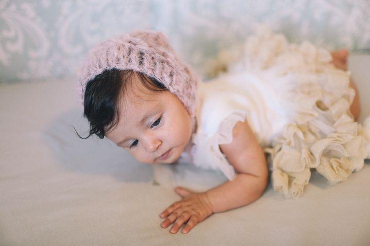 Spring/summer baby bonnets  Crochetbynina  CrinaCurescu