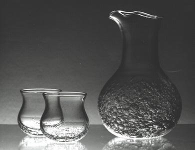 manhattan cocktailglass by severin brørby for hadelands glassverk