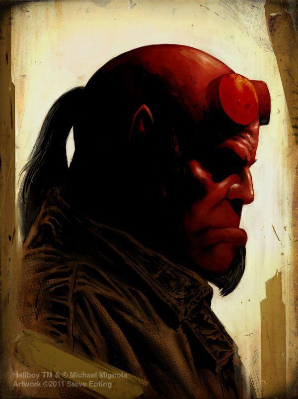Hellboy by Steve Epting