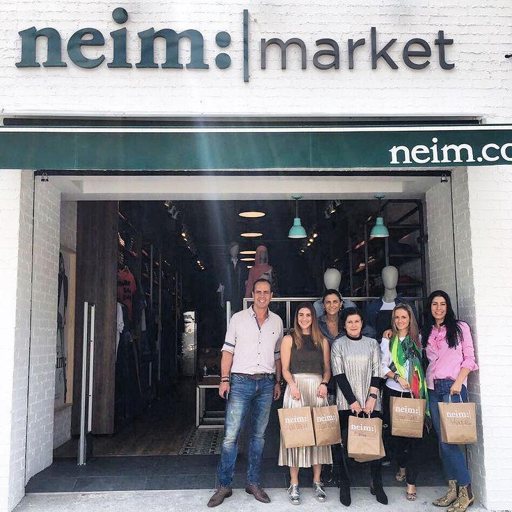 Felices con la compañía del equipo @Inexmoda en la apertura de #neimmarket #Medellín. #opening #whatsyourneim #jeanswear