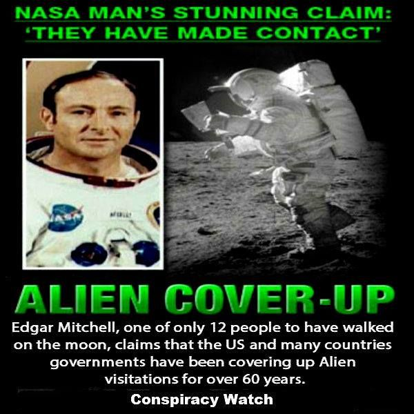 NASA Astronaut Claims Governments Covered Up Alien Contact for over 60 Years