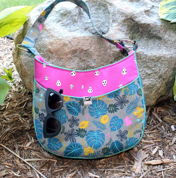 Roll With It Tote - Andrie Designs bag patterns  Paper and PDF bag patterns