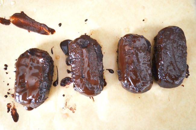 Moka proteinové tyčinky | Too Much Baking