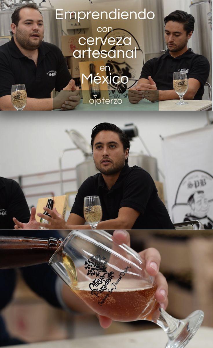 Emprendiendo con cerveza artesanal en México: Entrevista a Nicola Capasso y Eduardo Lastra (San Pascual Baylón)  #ojoterzo #emprendedores #beer #cerveza #mexico #artesanos #artesan #artesanal #tarro #chela #cheve #drink #bebida #alcohol #beverage #emprendimiento #emprendedoras #emprendedora #emprender #entrepreneur #negocio #pyme #empresa #marca #brand