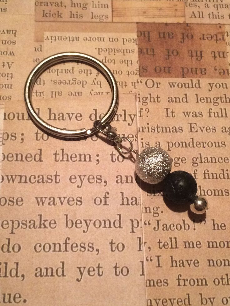 Silver Keychain Drop Designs Handmade Essential Oil Jewellery • diffuse your essential oils in style with our handmade jewellery •  #lavabeads #essentialoils #chemicalfree #diffuser #jewelry #jewellery #dropdesigns #aromatic #doterra #youngliving