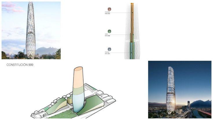 Noticias Nuevo Proyecto 999  Rascacielos 227.70 M  (Monterrey México)