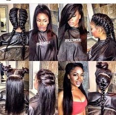 32 Best Quick Weaves Images On Pinterest Hairdos Beach