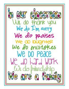 Our Classroom poster (cute version): Teacher Gifts, Posters I, Classroom Decor, Classroom But, Kids Daycares, Posters Lov, Classroom Posters, Classroom Ideas, Classroom Rules