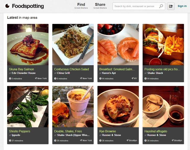 Food Spotting one of must #app for making your #holiday plan easier joyful & well-informed #travelapps