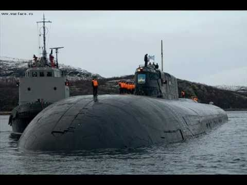 ▶ Soviet/Russian Nuclear Submarine project.949A Antey - YouTube
