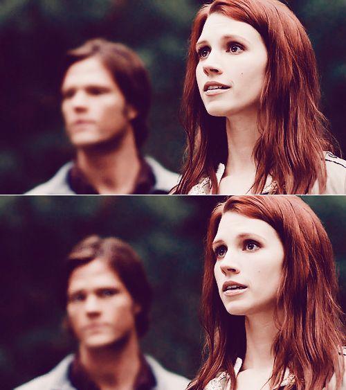 Anna Milton & Sam Winchester #Supernatural #SPN