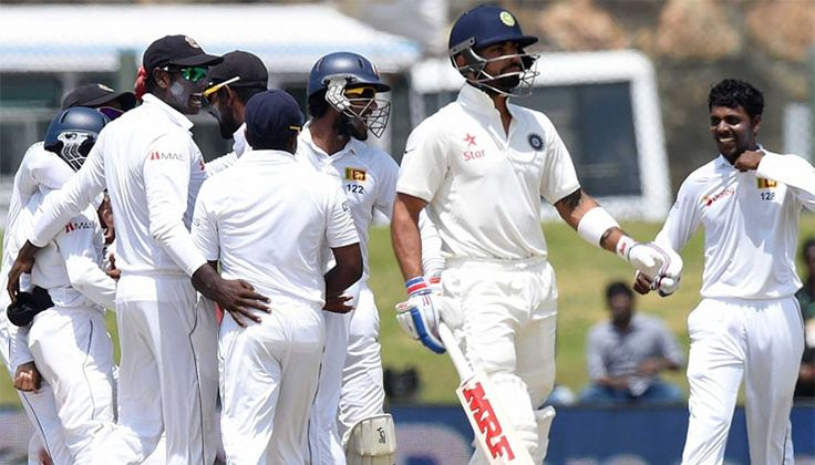 Herath claims seven, India lose first Test by 63 runs Read complete story click here www.thehansindia.com/posts/index/2015-08-15/Herath-claims-seven-India-lose-first-Test-by-63-runs-170271