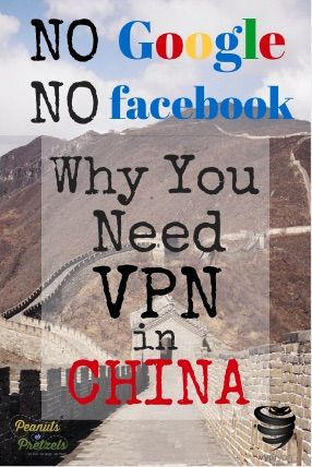 VPN - a must have if you want to travel (or live and work) in China!