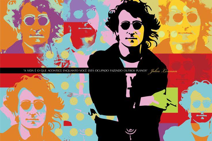 IMAGINE   JOHN LENNON   LOBO   POP ART lobopopart.com.br