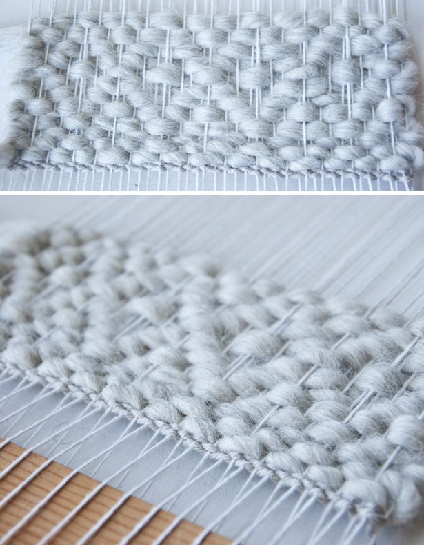 Double Diamond Pattern| The Weaving Loom #tutorial #weaving