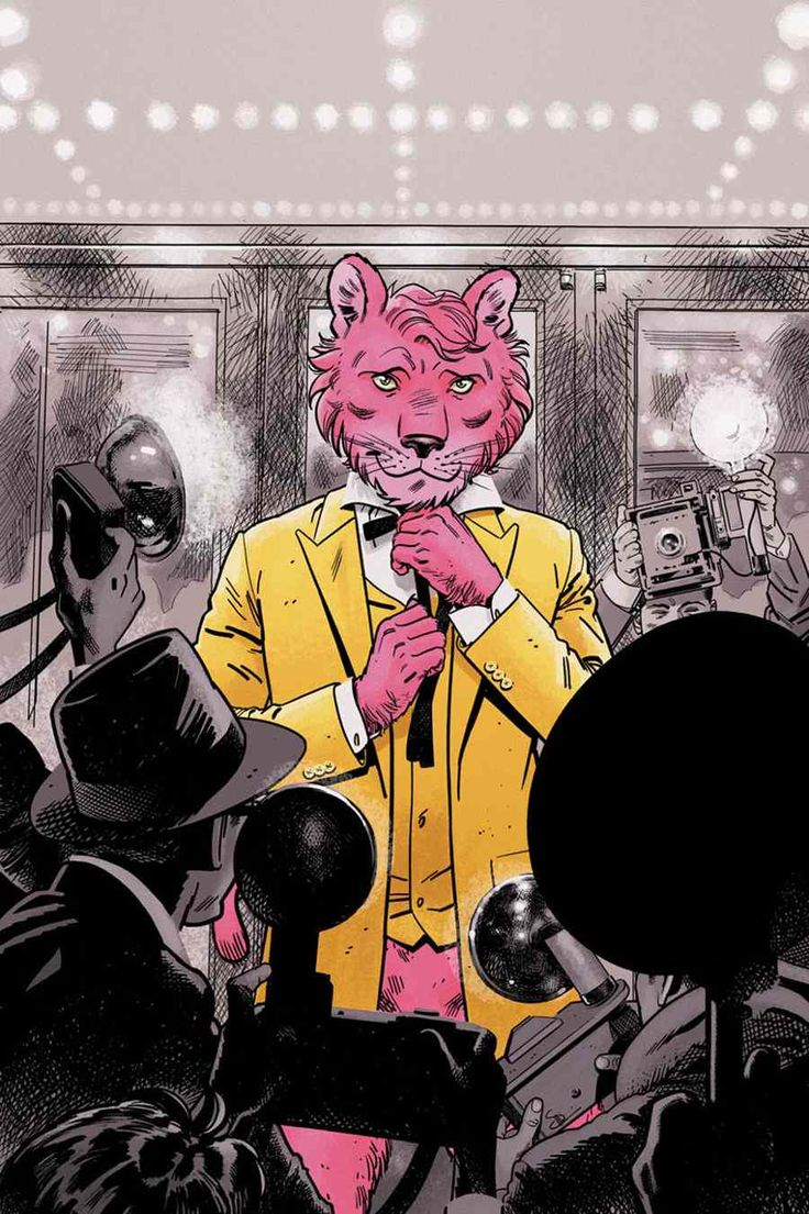 Snagglepuss Re-imagined As A Gay Southern playwright In DC Comics Reboot Mini-Series.