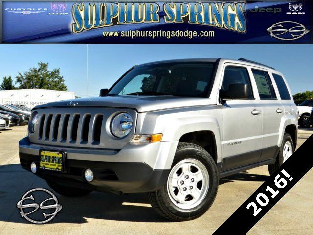 2016 Jeep Patriot Sport! Great MPG with a little Jeep Brand to boot!