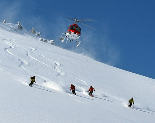Heli-skiing in Romania. Plan your winter tailor-made trip with unveilromania.com