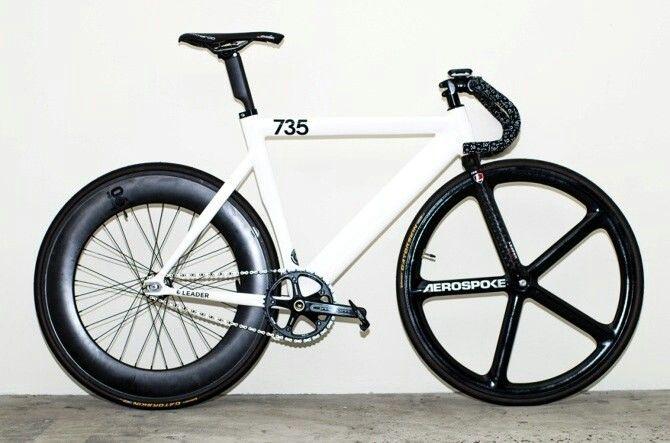 Leader 735 Aerospoke Wheel Fixie Fixed Gear Bikes Pinterest