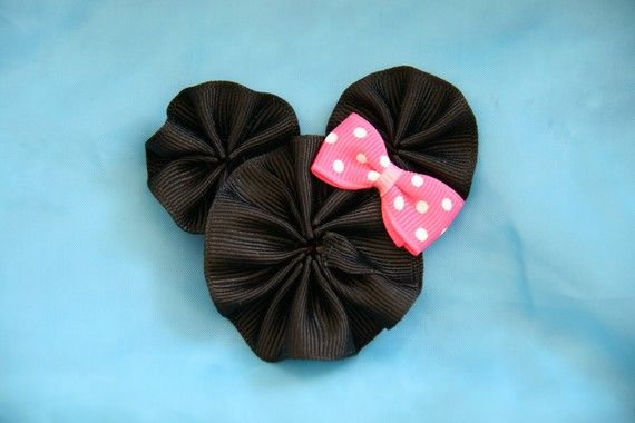 Another Minnie Mouse Hair Clip: