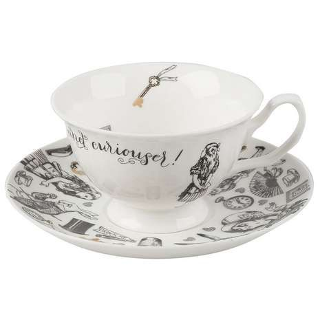 V&A Alice In Wonderland Tea Cup and Saucer Set | Dunelm (£15 - cheaper than garden centre)