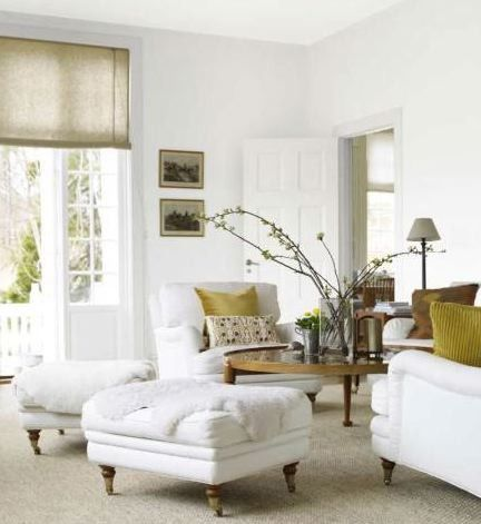 241 best Luscious Living Rooms images on Pinterest Home, Live - all white living room