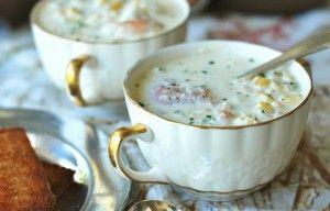 Corn, Crab & Shrimp Chowder