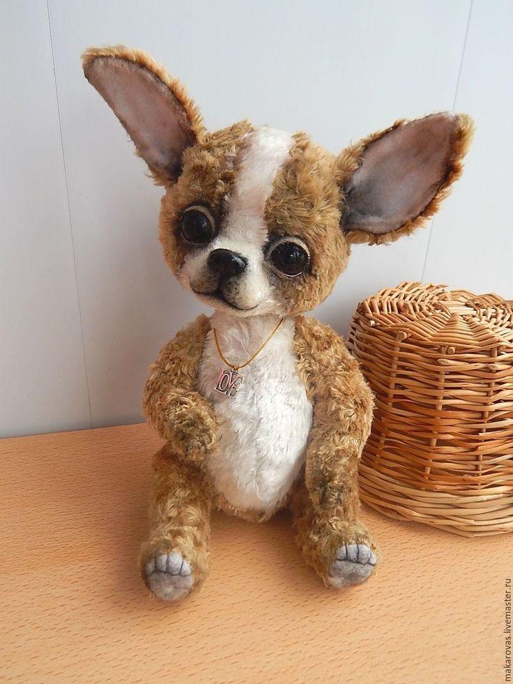 Купить Чихуахуа.Собачка тедди - бежевый, собачка, собака игрушка, щенок тедди, щенок, чихуахуа