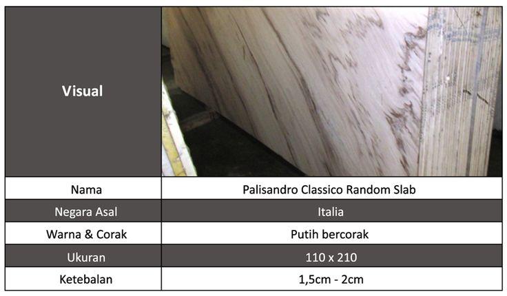 Marmer Import Palisandro Classico Random Slab
