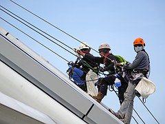 Abseilen, Seil, Sicherheit, Klettern