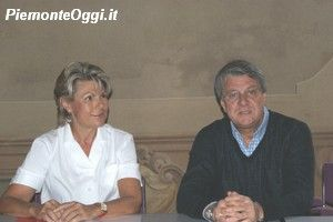 La Dottoressa Serena Monina e l'assessore Augusto Pizzamiglio.