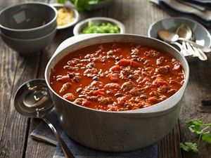 A classically easy chili recipe with four additional variations ranging from Cincinnati to Morocco.