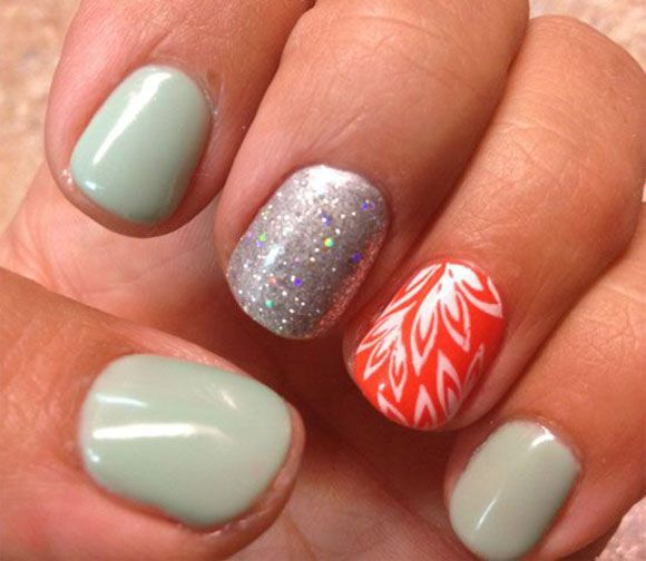 Nail Salons And Trendy Hair: 21 Cute And Trendy Nail Designs For Summer