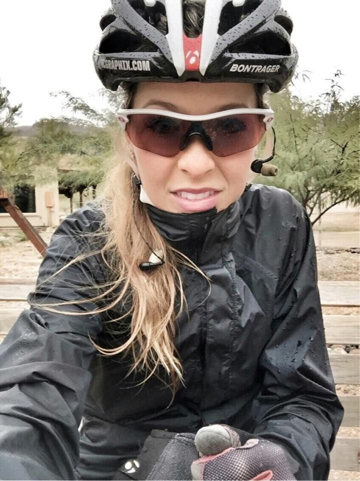 Cold and wet ride - Emily Batty Trek MTB