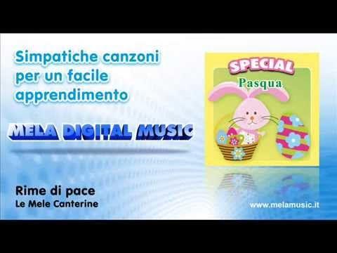 ▶ Rime di pace - Canzoni per bambini di Mela Music - YouTube