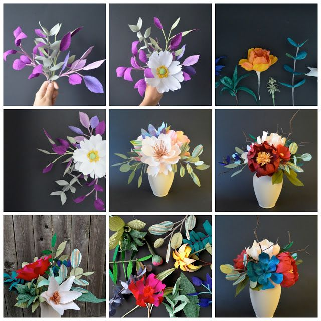 Zachwycaj�ce papierowe kwiaty by Lucia Balcazar