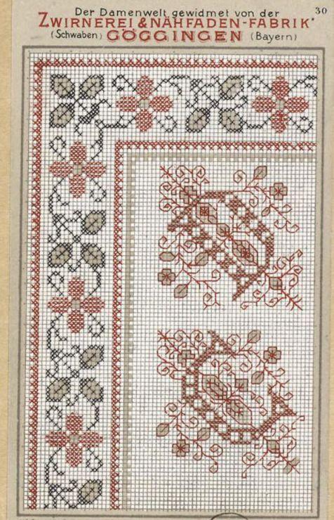 Gallery.ru / Фото #29 - старинные ковры и схемы для вышивки - SvetlanN