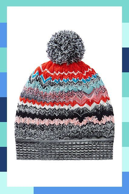 Add a chunky sweater for optimal coziness. #refinery29 http://www.refinery29.com/cool-beanies#slide-15