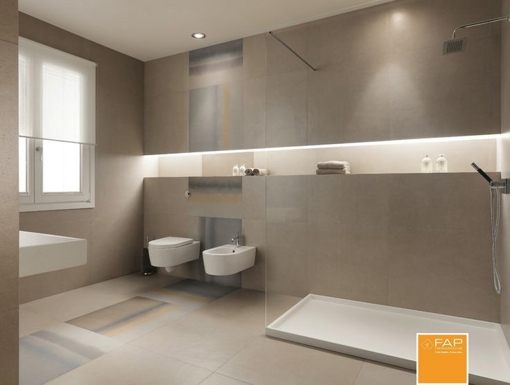MODERN BATHROOM Base fango Base delave