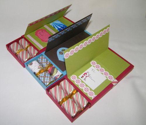 Verpackung für Pralinen