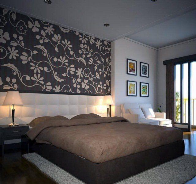 17 best ideas about papier peint chambre adulte on - Chambre adulte violet ...